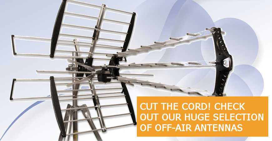 Off Air TV Antennas