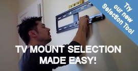 TV Mount Selection Tool
