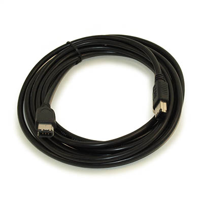 10ft, 6Pin to 6Pin Firewire 400 / 1394 / iLink Cable