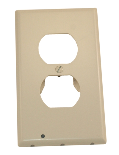 SnapPower Guidelight, Single Gang Replacement Wallplate, Light Amond