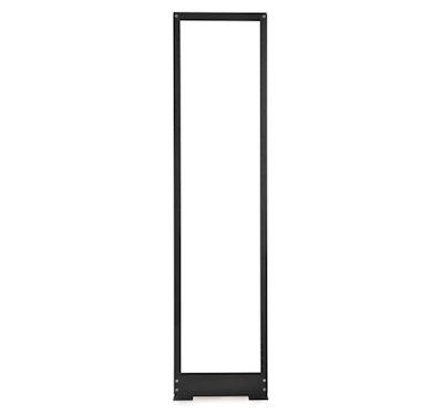45U 84inch High 2 Post Relay Rack Floor Type