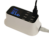 8 Port USB 8 Amp High Capacity Power Charger with Smart Monitoring